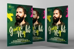 Live Guest Dj Night Flyer Product Image 3