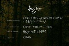 Web Font Mignus - Handwritten Font Product Image 6