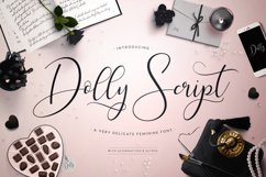 Web Font Dolly Script Product Image 1