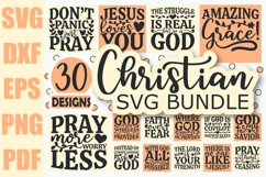 Christian SVG Bundle, Christian Quotes SVG files for Cricut Product Image 1
