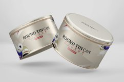 Round Tin Can Mockup Product Image 4