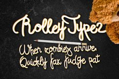 Rolley Typeface 2 Product Image 2