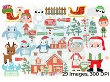 North Pole Clipart - Lime and Kiwi Designs Product Image 5