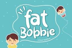 Web Font Fat Bobbie Product Image 1