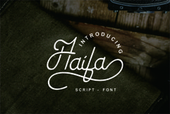Haifa Font Product Image 1