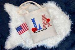 State abbreviation. USA sublimation. Louisiana Product Image 4