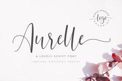 Aurelle Script Font Product Image 1
