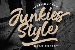 Junkies Style Bold Script Product Image 1