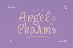Angel Charms - Cute Font Product Image 1