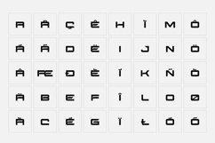 SB Sonar - Futuristic Font Product Image 6