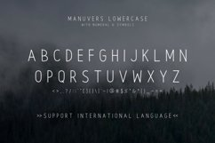 Manuvers - Handmade Sans Font - Product Image 5