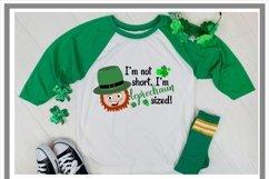 St Patrick's Day Funny I'm Not Short I'm Leprechaun Sized Product Image 2