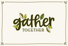 Forever Grateful Font & Doodles Product Image 3