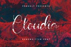 Cloudia - Handwritten Font Product Image 1