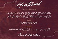 Heatwood An Elegant Signature Font Product Image 6