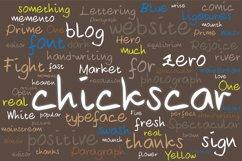 Chickscar Typeface Product Image 1