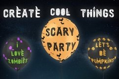 Spooky font with EXTRAS! Product Image 4