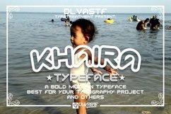 KHAIRA TYPEFACE Product Image 1