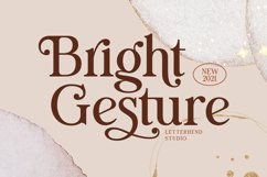 Bright Gesture Product Image 1