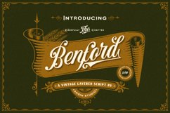 Benford Font Collections with Extras Product Image 1