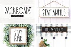 Farmhouse Font Bundle - Handwritten Fonts | Part 2 Product Image 5