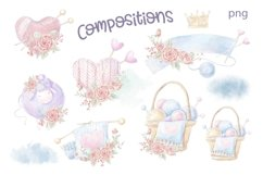 Watercolor Clipart Knitting Product Image 4