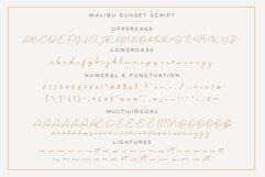 Malibu Sunset - A Beautiful Font Duo Product Image 2