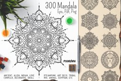 300 Vector Mandala Ornaments Product Image 1