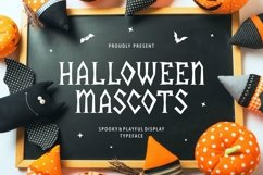 Halloween Mascots - Spooky and Playful Display Typeface Product Image 1