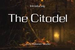 The Citadel Font Product Image 1