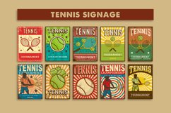 Tennis Signage Poster Product Image 1