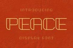 Web Font Peace Font Product Image 1