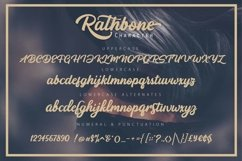 RATHBONE -Script Product Image 5