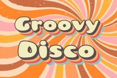 Groovy Disco 70s Font Product Image 1