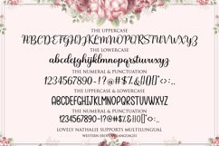 Lovely Nathalie Script Font DUO Product Image 8