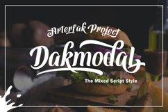 Dakmodal Typeface Product Image 1