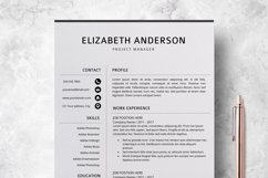 Resume Template | CV Cover Letter - Elizabeth Anderson Product Image 2
