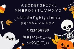 Halloween party Handwritten - cute kid font Kawaii style! Product Image 6