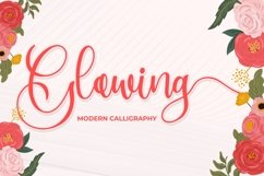 Glowing - Modern Calligraphy Product Image 1