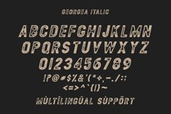 GEORGEA ALL CAPS FONT FAMILY WITH EXTRAS Product Image 12