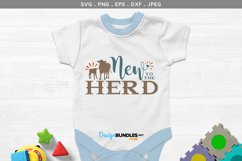 New to the Herd - svg & printable Product Image 1
