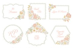 Glitter Floral Peach chic collection. 50% off Product Image 6