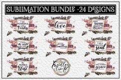 Motivational Quote Sublimation Bundle | 24 Unique Designs Product Image 2
