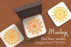Mandings font Product Image 1