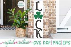 St. Patrick's Day Porch Sign 10x36 Bundle SVG, DXF, PNG, EPS Product Image 6