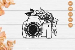 DSLR Camera svg, Wedding Photography, Camera cut file Product Image 1