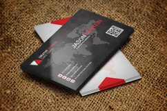 Beautiful Black Business Card Product Image 1