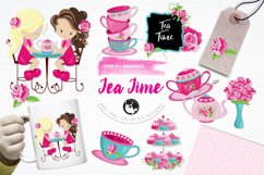 Tea Time graphics and illustrations Product Image 1