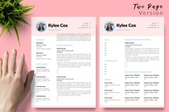 Teacher Resume CV Template for Word & Pages Kylie Cox Product Image 3