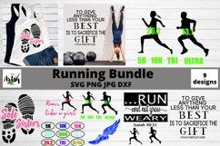 running svg, Runner svg, Running bundle, Running quote svg Product Image 1